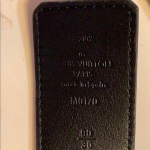 Louis Vuitton Accessories - Louis Vuitton belt size 90/36